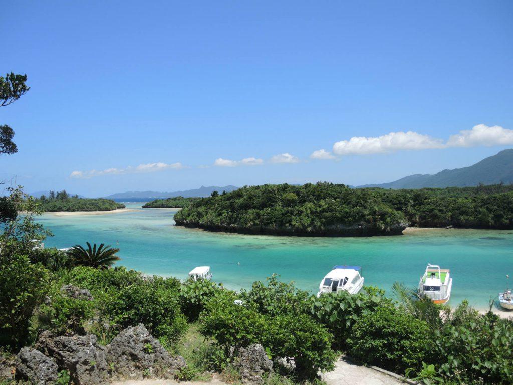Japan Zuid Ishigaki eiland Kabira bay