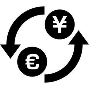 Geld wisselen euro Yen