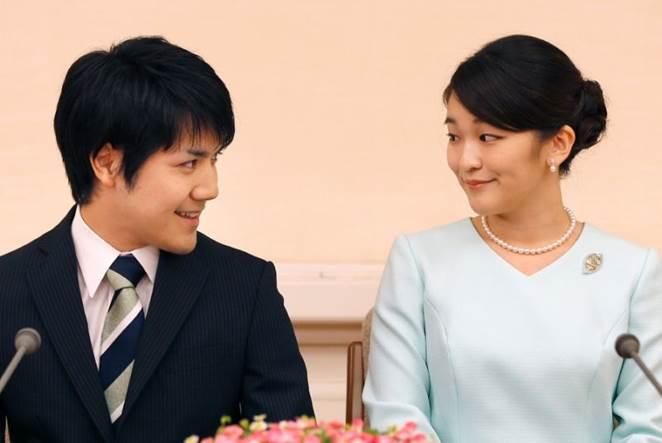 Huwelijk prinses Mako Kei Kumuro